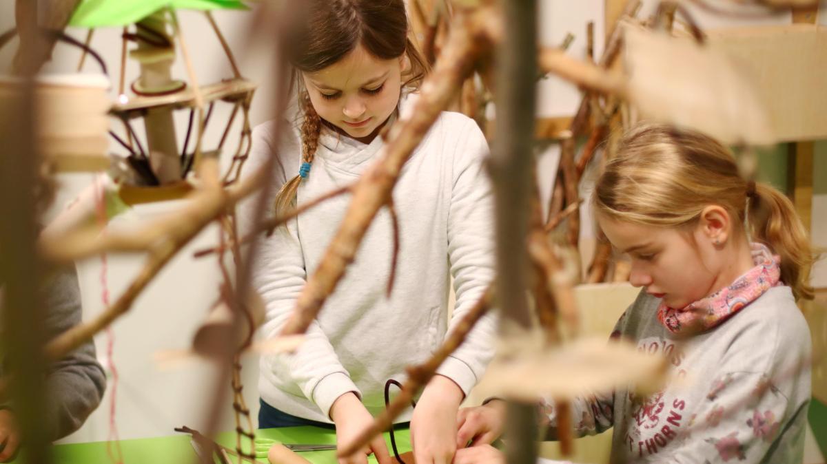 Bauen wie Biber und Biene im Kindermuseum - Augsburger Allgemeine