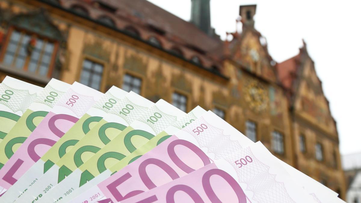 Ulm kommt beim Geldausgeben nicht hinterher - Augsburger Allgemeine