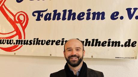 Robert Sibich war sieben Jahre lang Dirigent des Musikvereins Fahlheim. Das Herbstkonzert wird gleichzeitig sein Abschiedskonzert sein.