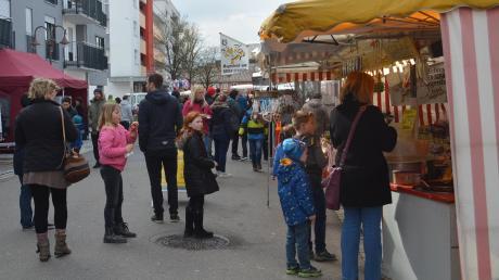 Seit diesem Jahr sind die Märkte in Senden kleiner, wie der Josefsmarkt auf unserem Bild im vergangenen Frühjahr.