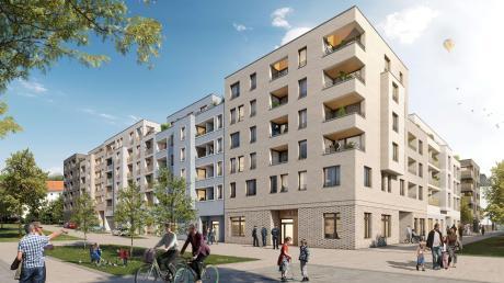 Wohnen statt Bundeswehr: Auf dem Gelände der ehemaligen Hindenburgkaserne werden Wohnungen gebaut.