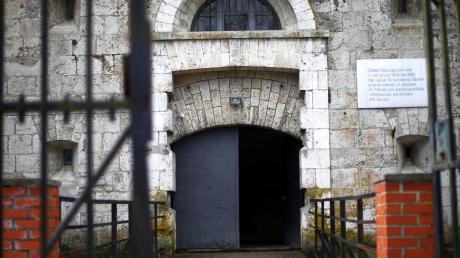 Der Eingang des Dokumentationszentrums Oberer Kuhberg.