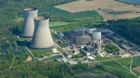 Das Atomkraftwerk in Gundremmingen. Block C soll Ende 2021 vom Netz gehen.