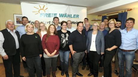 Der Freien Wähler Elchingen haben ihre Kandidaten für die Kommunalwahl im kommenden Jahr aufgestellt.