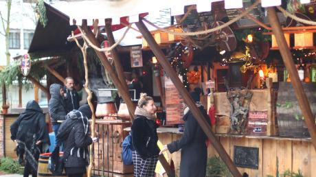 Gestern ist der mittelalterliche Weihnachtsmarkt in Neu-Ulm gestartet. Bis zum 22. Dezember erwartet die Besucher ein abwechslungsreiches Programm.