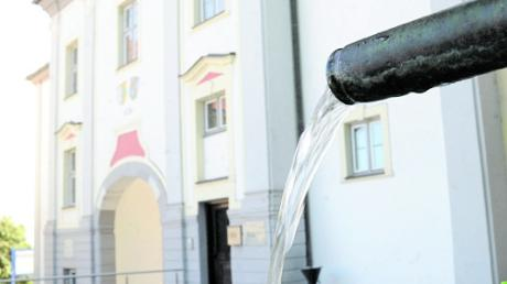 Sanierungen in Millionenhöhe stehen für die Wasserversorgung an.