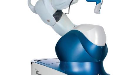 So sieht der operierende Roboter aus Ehingen aus.