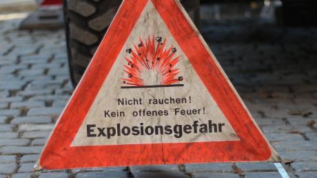 Explosionsgefahr herrschte in Ingstetten.