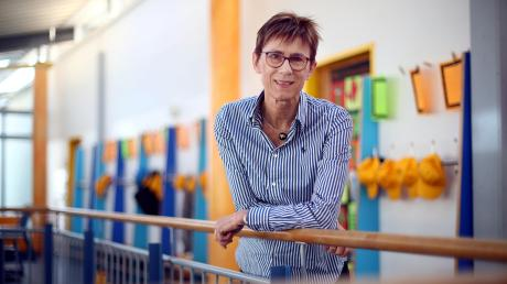 Die 56-jährige Bärbel Brokmeier leitet seit August die Grundschule Nord in Weißenhorn.