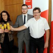 Der Vorstand der SPD Nersingen (von links): Sabine Krätschmer, Axel Arbeiter, Silvia Wärsnig, Fabian Kaimer und Jakob Hügel.