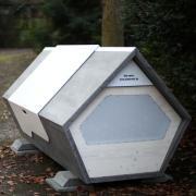 """Am Alten Friedhof steht eins der beiden """"Ulmer Nester""""."""