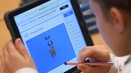 Neu-Ulmer Schulen werden mit Tablets ausgestattet.