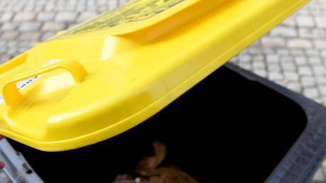 Von Januar 2021 an können Bürger aus Weißenhorn und den Ortsteilen auf Wunsch Leichtverpackungen wie Folien, Becher und Tüten aus Kunststoff über die Gelbe Tonne entsorgen.