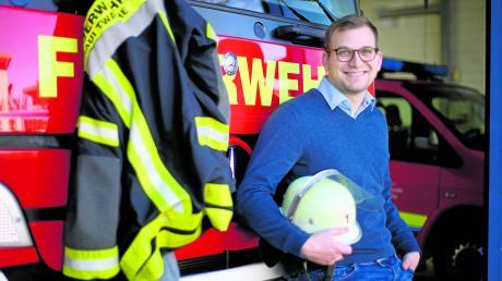 Ludwig Ott ist Feuerwehrmann aus Leidenschaft und verbringt viel Zeit in der Neu-Ulmer Hauptwache. Er will für die Grünen den Chefsessel im Landratsamt erobern und sagt von sich, er sei unkonventionell und unvoreingenommen.