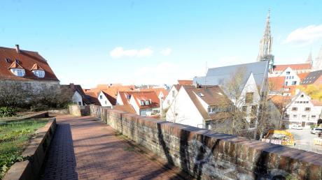Schöner Blick über Ulm: Die Wilhelmshöhe ist auch bei feiernden Jugendlichen sehr beliebt. Zum Ärger von Anwohnern.