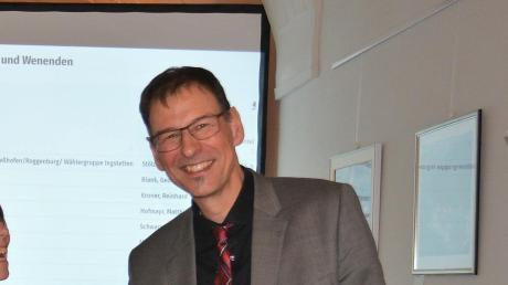 Mathias Stölzle ist für die nächsten 6 Jahre wiedergewählt.