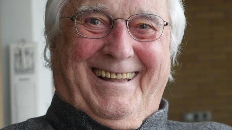 Rido Busse bleibt auch mit 85 Jahren weiter kreativ.