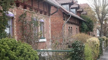Die Arbeiterhäuser der Gutenbergstraße in der Ulmer Oststadt entstanden im 19. Jahrhundert als Sozialsiedlung.