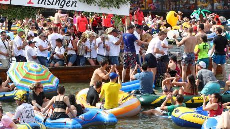 Das Nabada auf der Donau fällt in diesem Jahr aus.