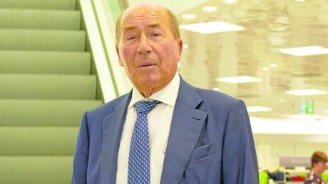 Erwin Müller kam persönlich zur Eröffnung des neuen Abt in der Ulmer Hirschstraße im vergangenen Jahr.