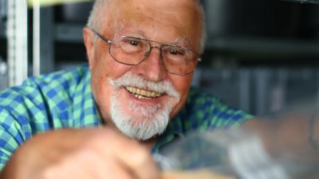 Richard Ambs hat als Kreisarchäologe schon vieles aus dem Boden geholt und damit die Erkenntnisse um die Geschichte des Landkreises bereichert. Am Ende des Monats will er sein Amt abgeben.