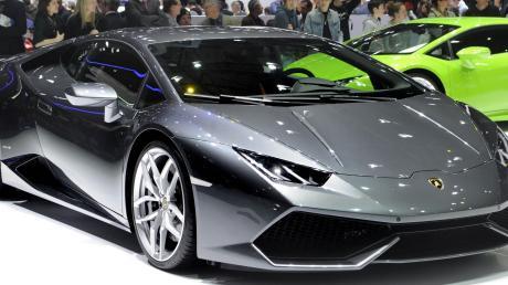 Ein solcher Lamborghini Huracán war auf der A8 in einen Unfall verwickelt.