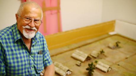 Kreisarchäologe Richard Ambs (oben) bekommt zwar kein Museum in Senden, kann sich aber dennoch freuen: Der Kreis kauft ein Gebäude am archäologischen Park Kellmünz. Dort können Teile der Sammlung ausgestellt werden.