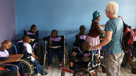 Marion Kimani betreut derzeit 42 mehrfach behinderte Kinder.