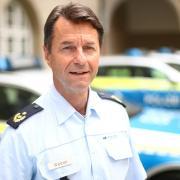 Bernhard Weber, der im Oktober 61 Jahre alt wird, ist seit 1. August 2019 Leiter des Polizeipräsidiums Ulm.