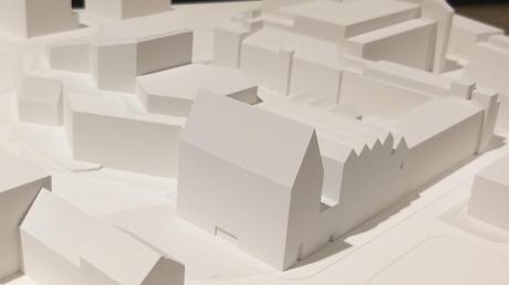 Der Siegerentwurf von Max Dudler: So wird wohl der Erweiterungsbau am Ulmer Theater aussehen.