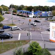 Nach jahrelangen Vorbereitungen soll ab 2021 die Reuttier Straße ausgebaut werden. Das betrifft auch die Kreuzung Starkfeld/Ringstraße.