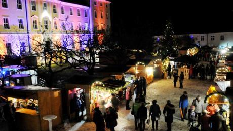 Ein Bild, das sich in diesem Jahr nicht machen lässt: Der Weihnachtsmarkt in Roggenburg wird abgesagt.