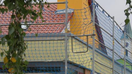Der städtische Kindergarten in Witzighausen ist eine von vielen Baustellen, die die angespannte Situation der Kinderbetreuung entschärfen soll.