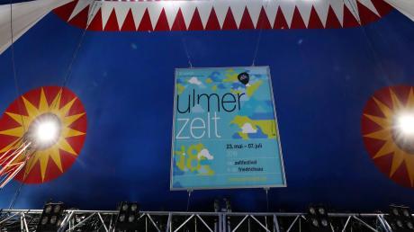 Graue Wolken hingen schon länger über den Plänen für das Ulmer Zelt 2021. Jetzt steht es fest: Das Festival in der Friedrichsau fällt aus.