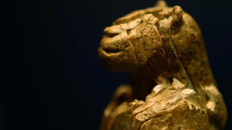 31 Zentimeter misst der Löwenmensch und ist vielleicht 41.000 Jahre alt – die bedeutende Figur ist das Herzstück im Museum Ulm.