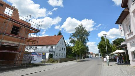 Die Aufwertung der südlichen Hauptstraße soll dieses Jahr verwirklicht werden: Der Marktrat plant, in dieser Gegend Grundstücke zu kaufen und möglicherweise drei Gebäude abzureißen.