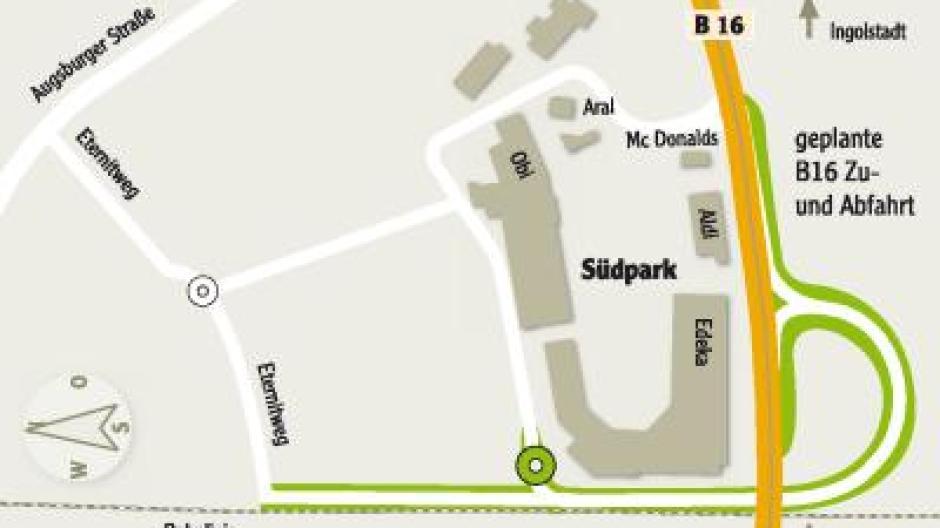 Südpark-Anbindung: Verkehrschaos und weniger Kunden - Nachrichten ...