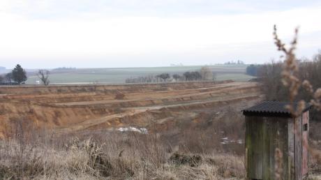 Die Lehmgrube in Attenfeld.
