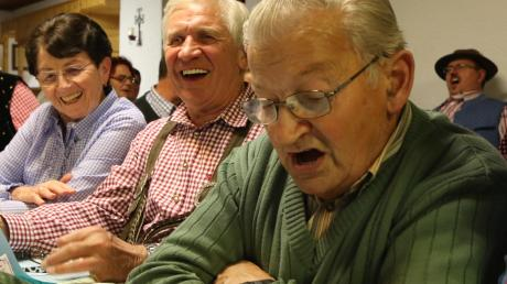 Das Publikum sang bei vielen Liedern kräftig mit.
