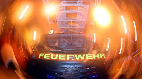 Am Augsburger Klinikum hat es am Dienstag gebrannt.