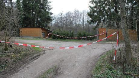 In dieser Kleingartenanlage wurde am Ostersonntag ein 36-Jähriger tot aufgefunden. Der Mann war erstochen worden.