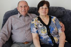 Sie sind seit 50 Jahren ein Ehepaar