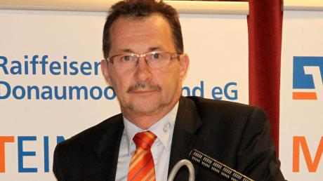 Bankenvorstand Andreas Schwinghammer präsentierte die Zahlen.