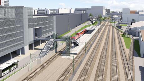 """Bis 2019 soll """"Ingolstadt Audi"""" fertig sein. Ab kommenden Freitag müssen sich Pendler wegen der Bauarbeiten auf Verzögerungen einstellen."""