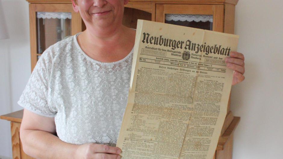 Neuburg: Die Zeitung, die aus dem Rahmen fiel - Nachrichten Neuburg ...