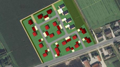 Nördlich zur Ingolstädter Straße in Stengelheim soll ein neues Baugebiet entstehen. Derzeit sind dort insgesamt 21 Einfamilien- und Doppelhäuser sowie Bungalows geplant. Sollte man auf eine Sickerfläche verzichten können, könnten es sogar noch mehr werden.