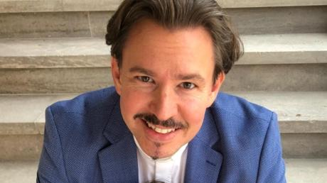 Andreas Neumerkel ist der neue Pfarrer der Apostelkirche. Im September nimmt er seinen Dienst auf.