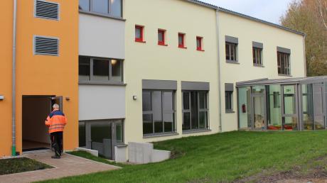 Der neue Anbau an den Kindergarten verfügt über einen neuen Speisesaal und bietet mehr Platz.