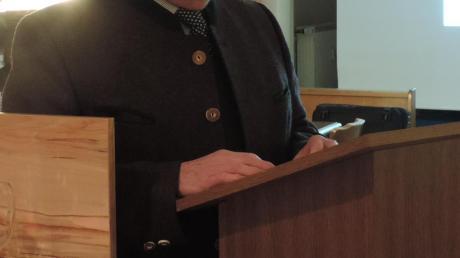 Der Rohrenfelser Bürgermeister Wigbert Kramer legte in der Bürgerversammlung am Donnerstag seinen Rechenschaftsbericht vor.