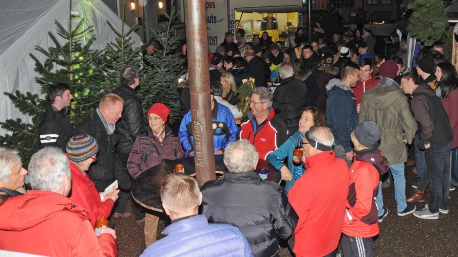 Burgheim Ein Kleiner Aber Feiner Weihnachtsmarkt In